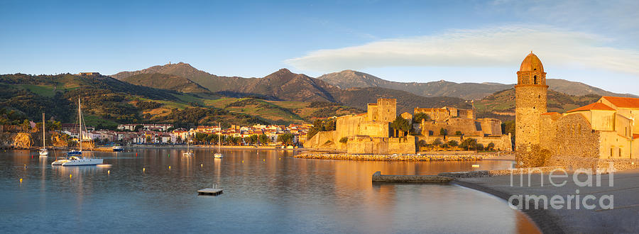 Collioure At Dawn Photograph  - Collioure At Dawn Fine Art Print