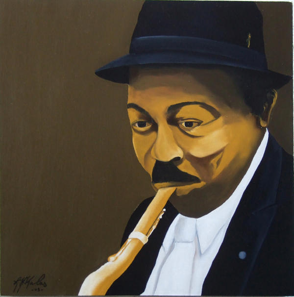 Colman Hawkins  Painting