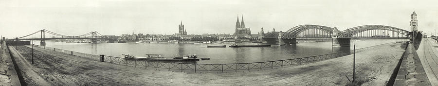 Cologne - Germany - C. 1921 Photograph  - Cologne - Germany - C. 1921 Fine Art Print