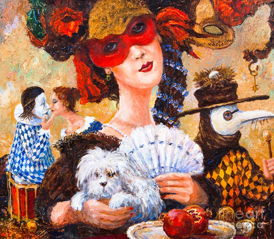 Colombina Painting