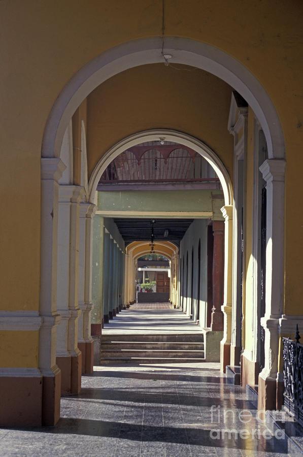 Colonial Arches Granada Nicaragua Photograph