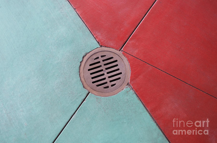 Abstract Photograph - Color Drain by Dan Holm
