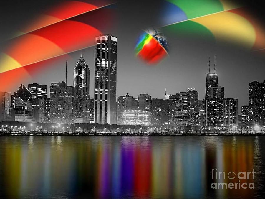 Color My World Raw Digital Art