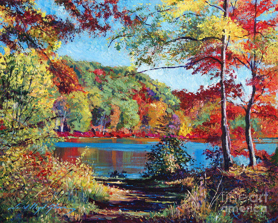 Color Rich Harriman Park Painting  - Color Rich Harriman Park Fine Art Print