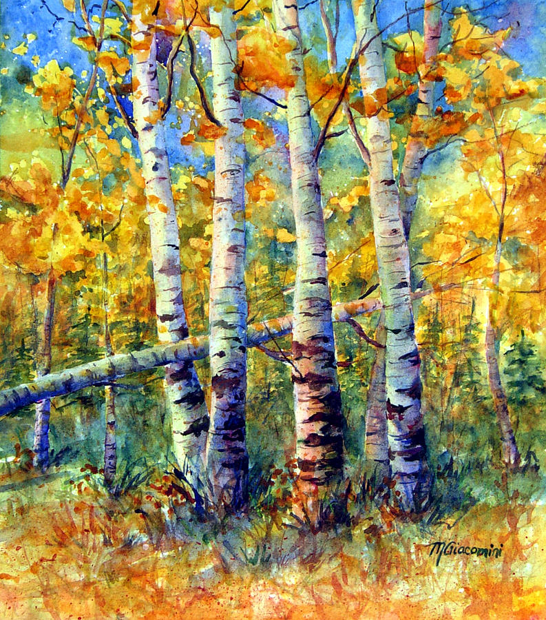 Colorado Aspen Grove Painting