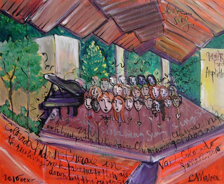 Colorado Childrens Chorale Painting