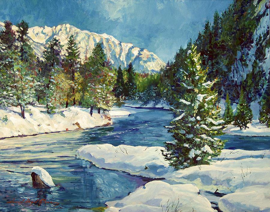 Colorado Pines Painting