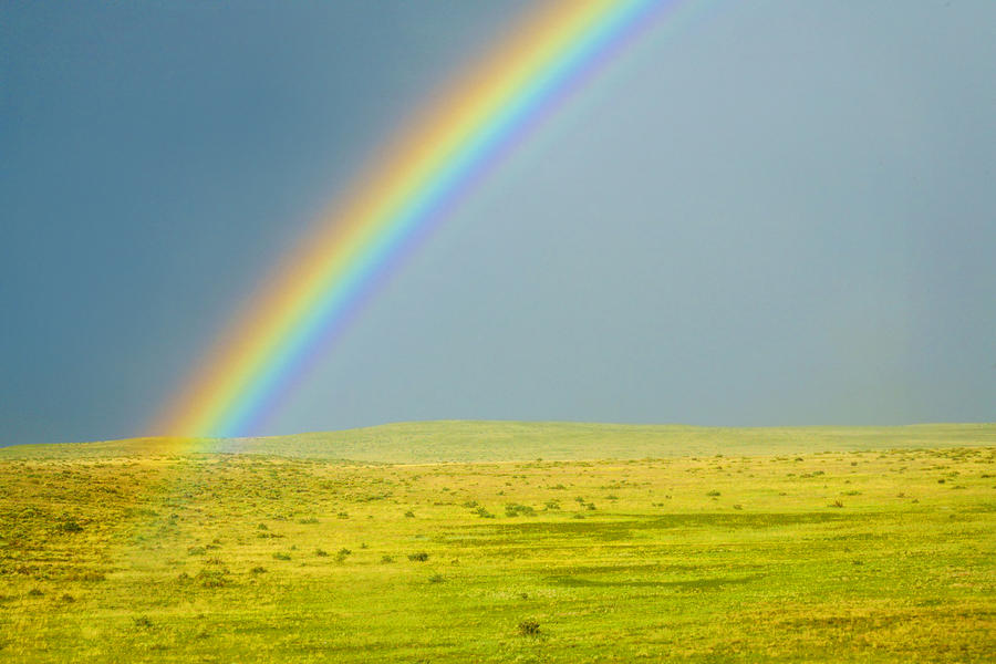 Colorado Rainbow Photograph  - Colorado Rainbow Fine Art Print