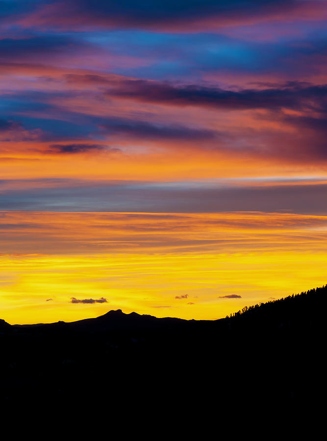 Colorado Sunrise -vertical Photograph  - Colorado Sunrise -vertical Fine Art Print