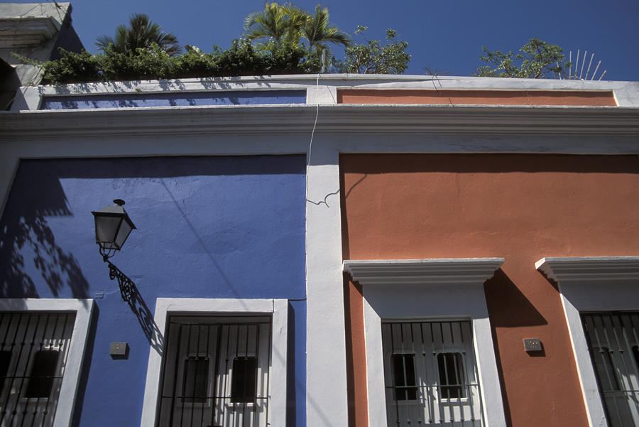 Outdoors Photograph - Colorful Architecture In Old San Juan by Scott S. Warren