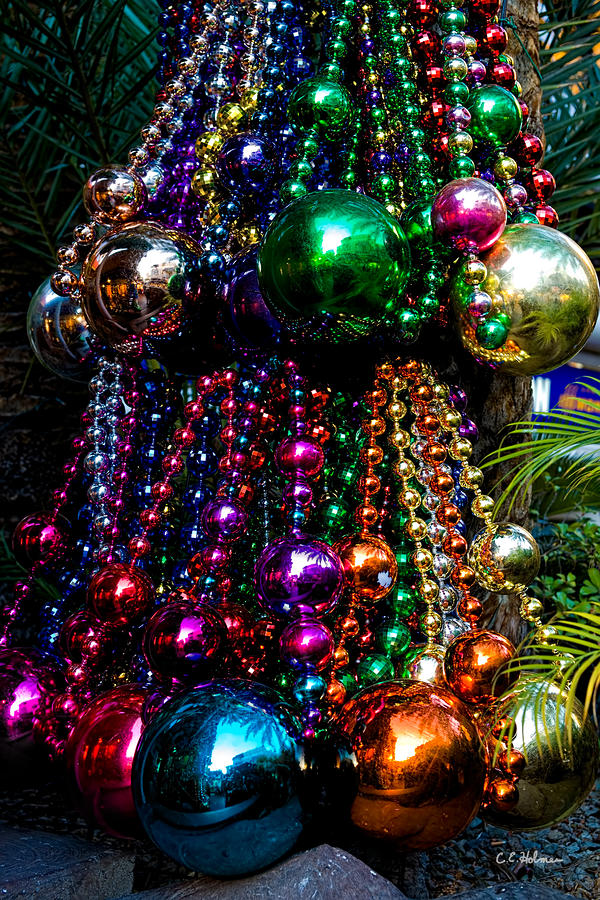 Colorful Baubles Photograph