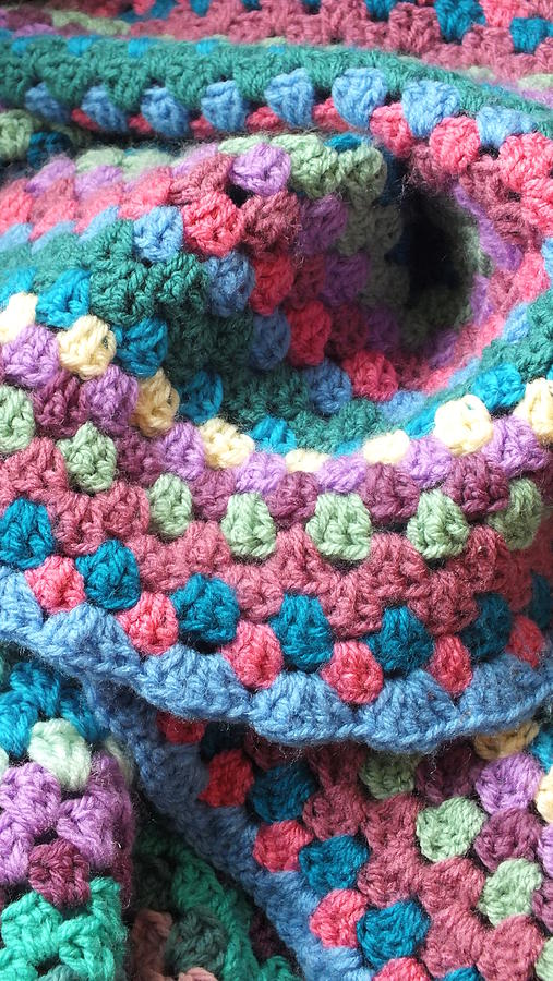 Colorful Crochet Photograph  - Colorful Crochet Fine Art Print