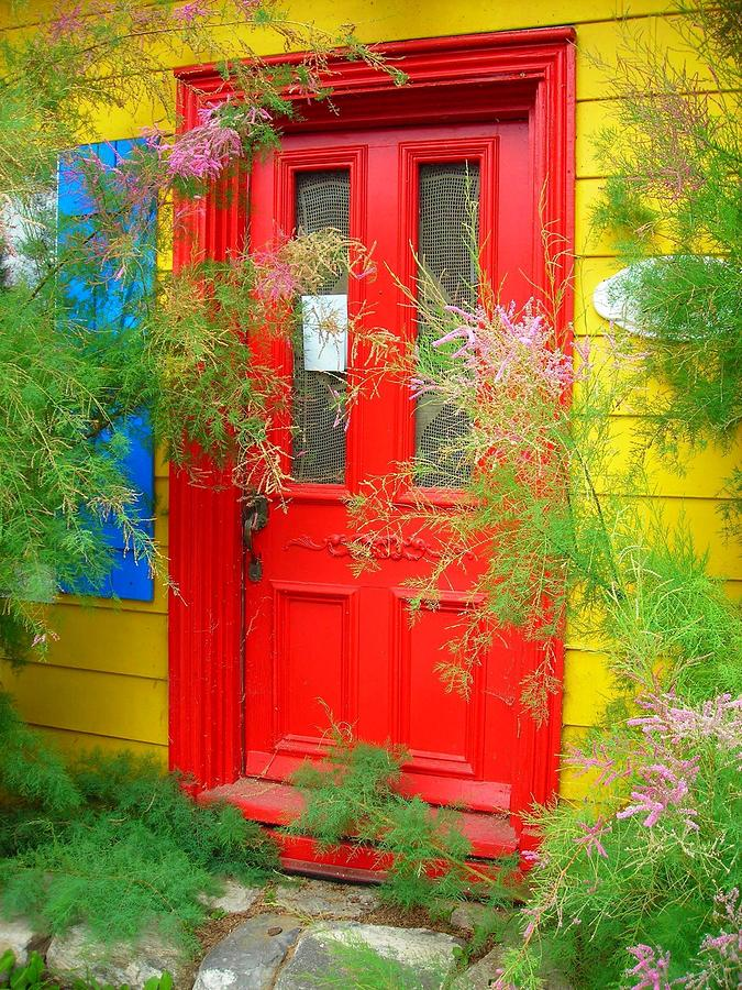 Colorful Entrance ... Photograph  - Colorful Entrance ... Fine Art Print