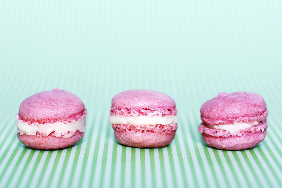 Colorful Macaroons Photograph