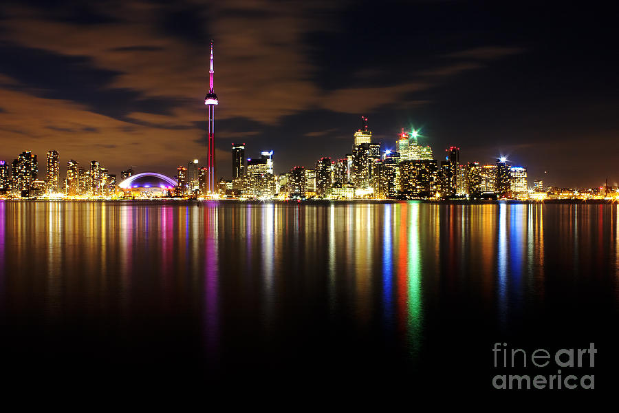 Colorful Toronto Photograph  - Colorful Toronto Fine Art Print