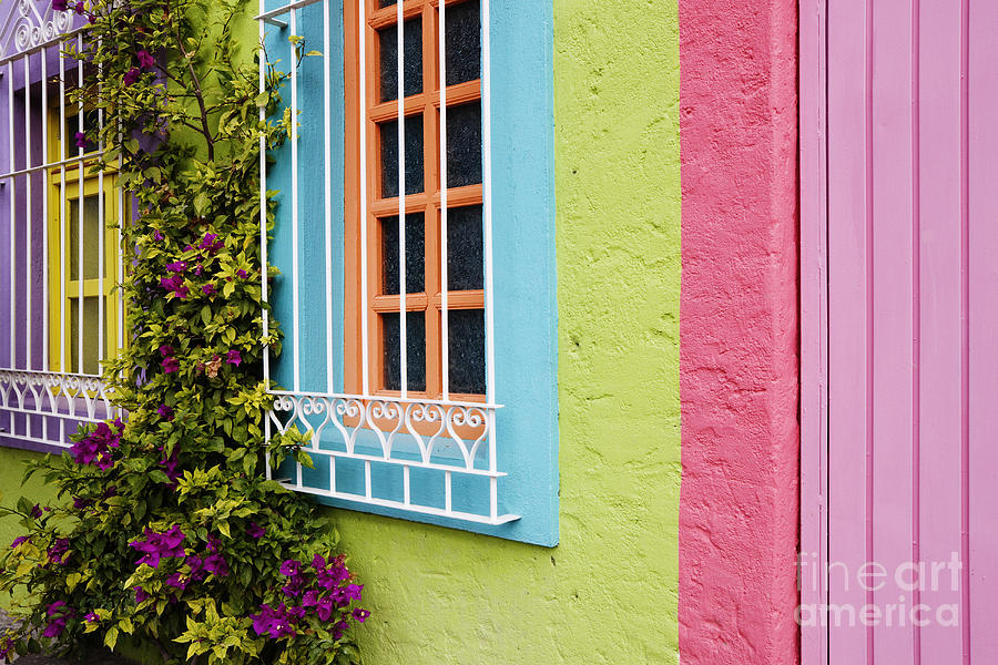 Colorful Walls Photograph