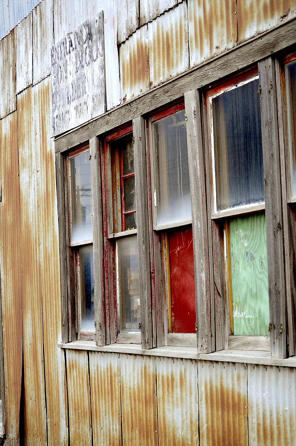 Colorful Windows Photograph