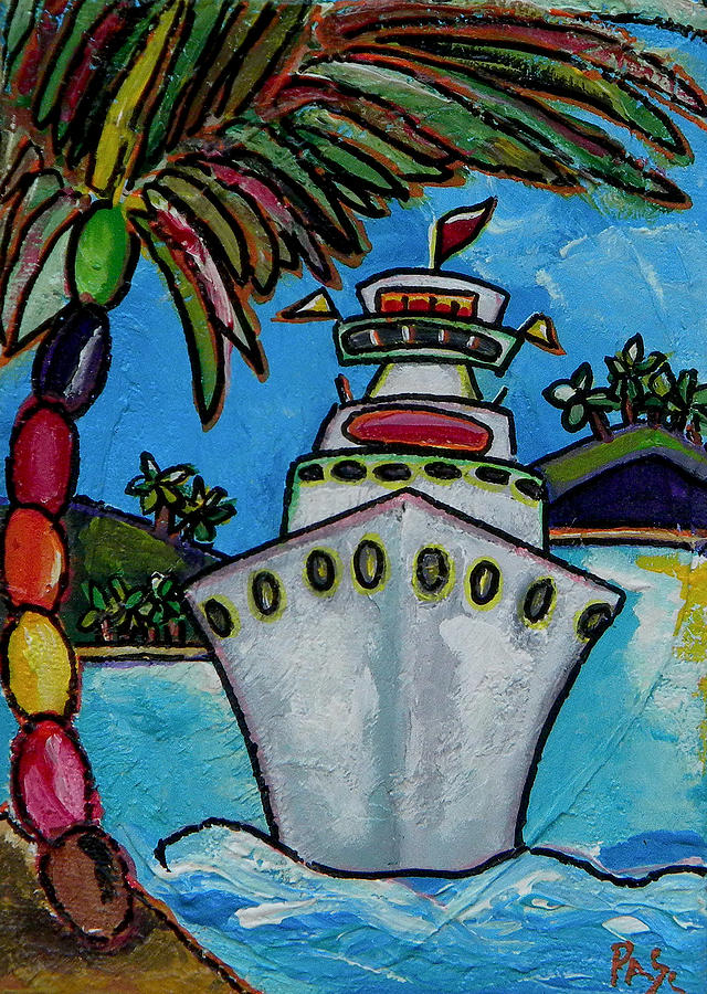 Colors Of Cruising Painting