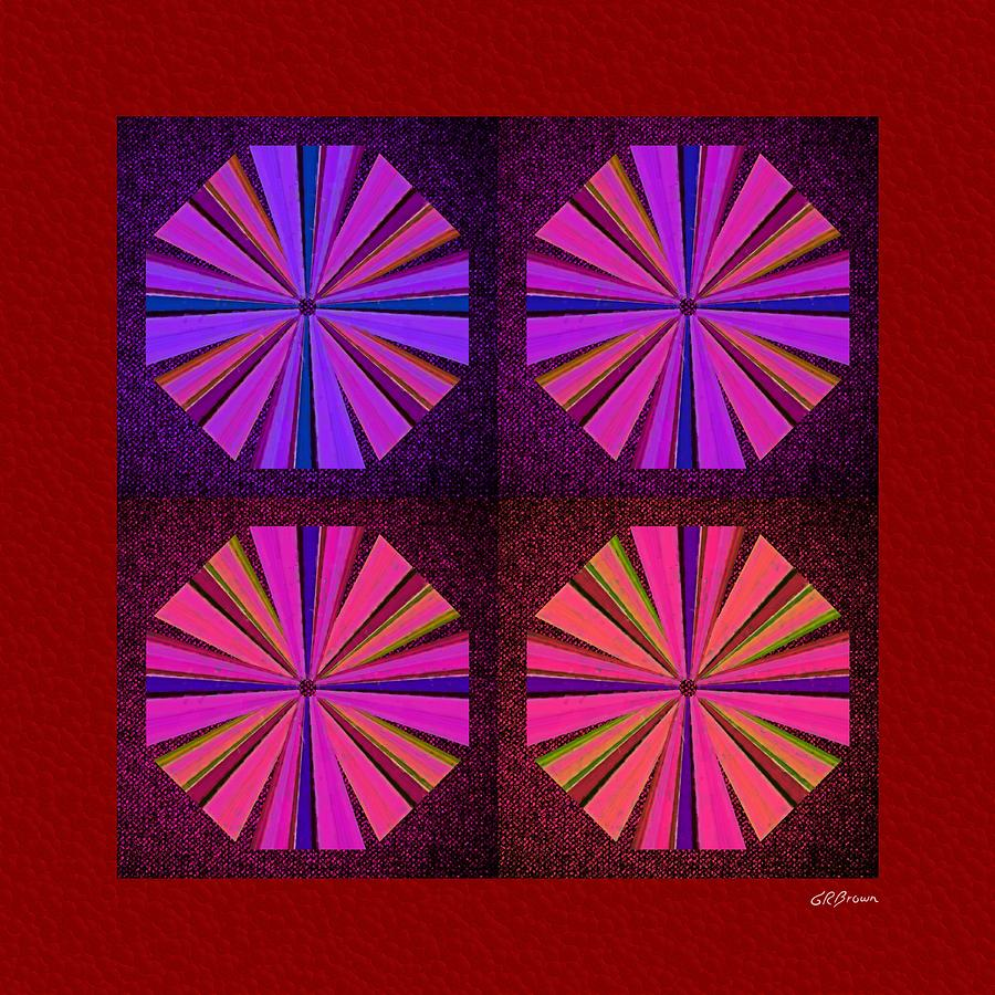 Colors Of The Windmill Digital Art  - Colors Of The Windmill Fine Art Print