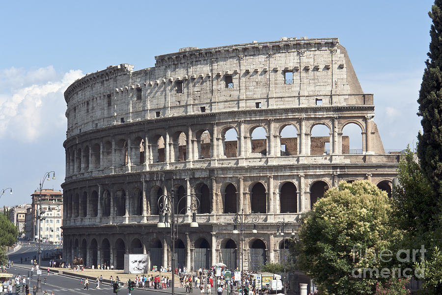 Colosseo I Photograph  - Colosseo I Fine Art Print