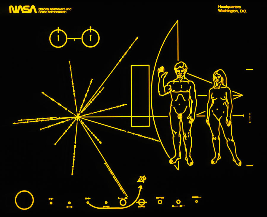 space probe pioneer 10 plaque - photo #40