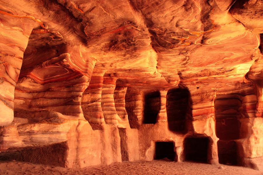Colours Of Petra Photograph