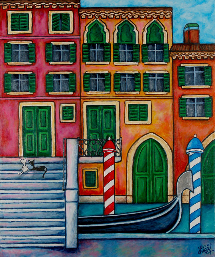 Colours Of Venice Painting  - Colours Of Venice Fine Art Print