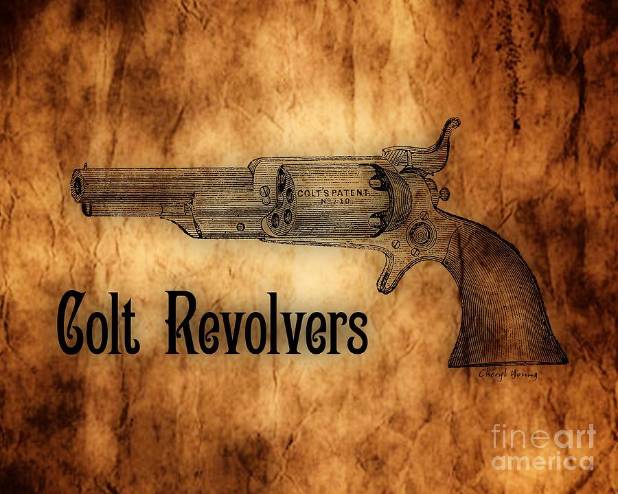 Colt Revolvers Photograph