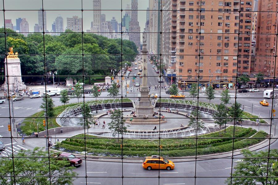 Columbus Circle Photograph  - Columbus Circle Fine Art Print