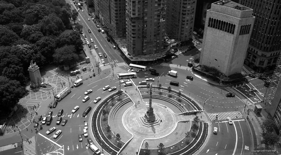 Columbus Circle Nyc Photograph  - Columbus Circle Nyc Fine Art Print