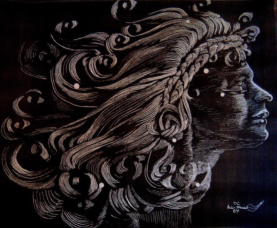 Coma Berenices Drawing