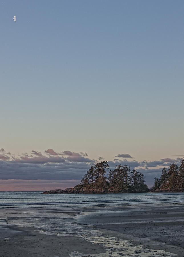 Combers Beach At Dawn, Tofino, British Photograph  - Combers Beach At Dawn, Tofino, British Fine Art Print