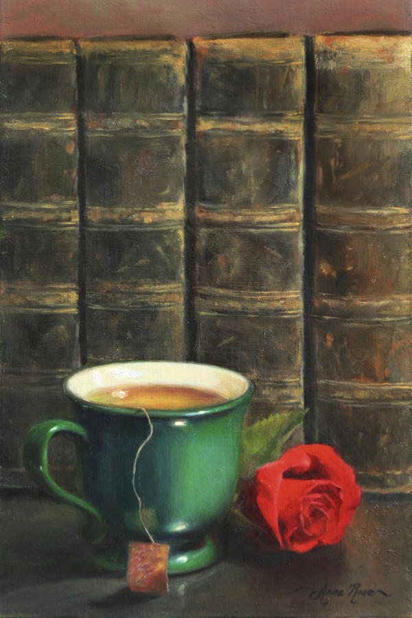 Comforts Of Old Painting  - Comforts Of Old Fine Art Print