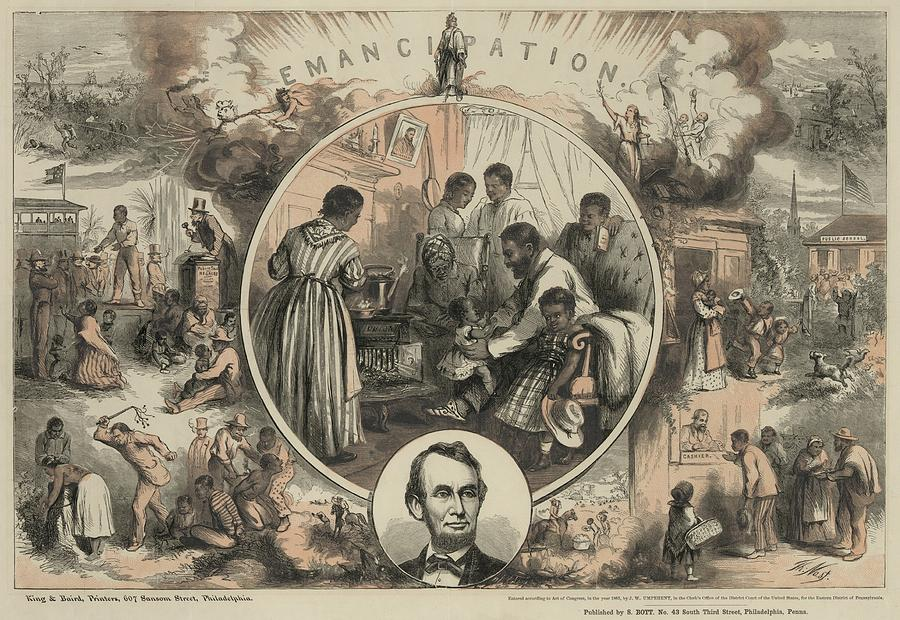Commemoration Of The Emancipation Photograph