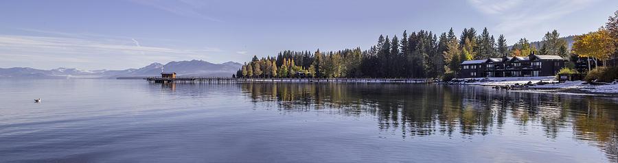 Lake Tahoe Photograph - Commons Beach Lake Tahoe by Brad Scott