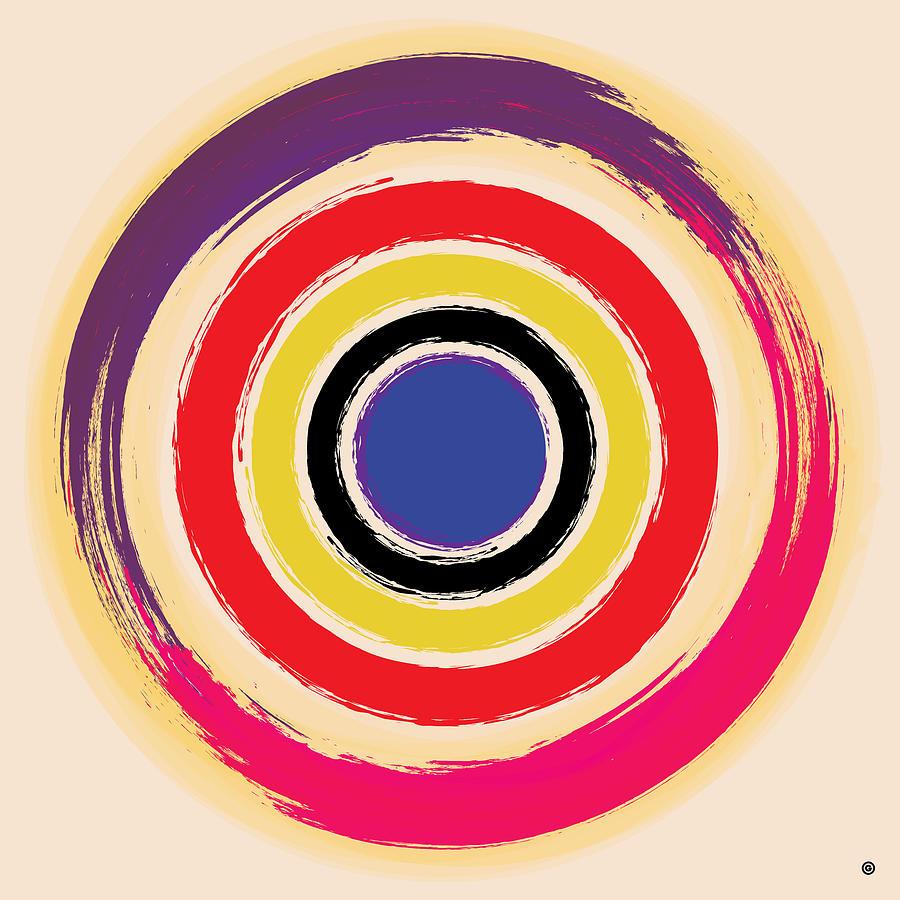 Compass Brush Digital Art