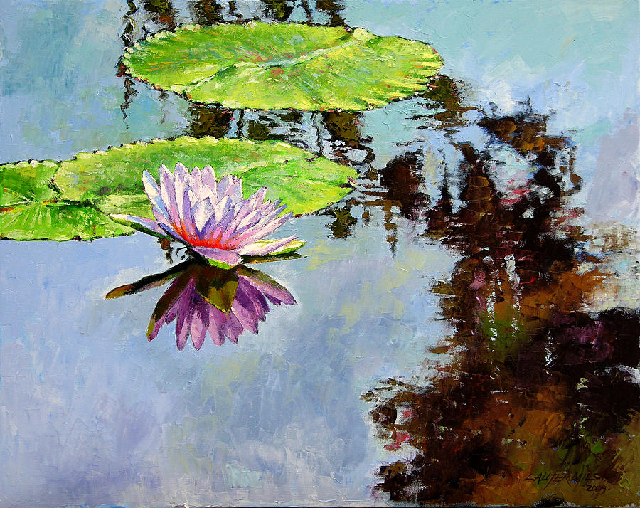 To paint a water lily ap literature essay