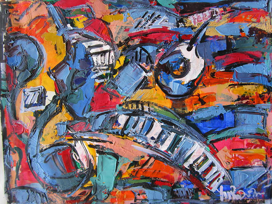 Composition with music painting by len yurovsky for The craft of musical composition