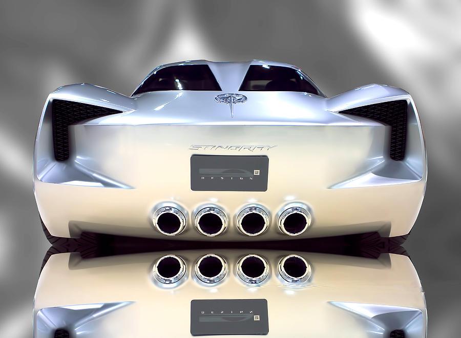 Concept Vette - Rear Photograph