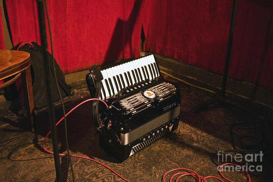 Concertina On The Floor Photograph  - Concertina On The Floor Fine Art Print