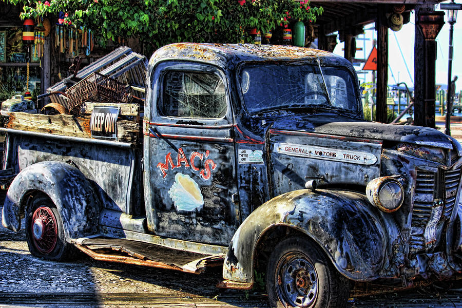 Conch Truck Photograph