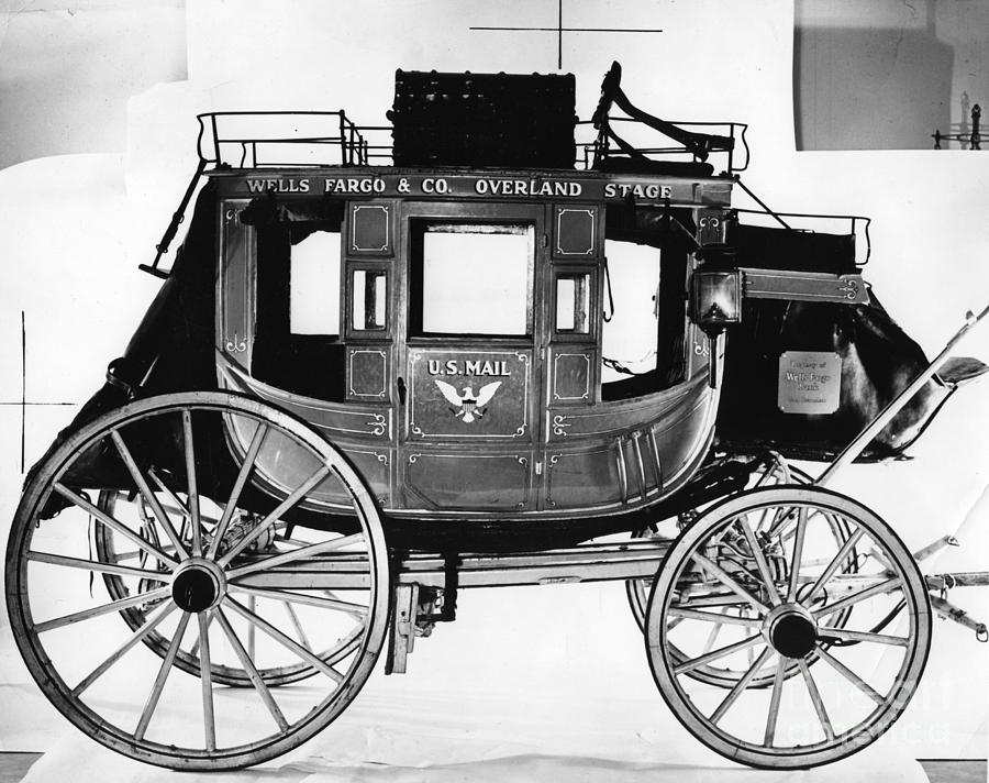 Concord Stagecoach Photograph