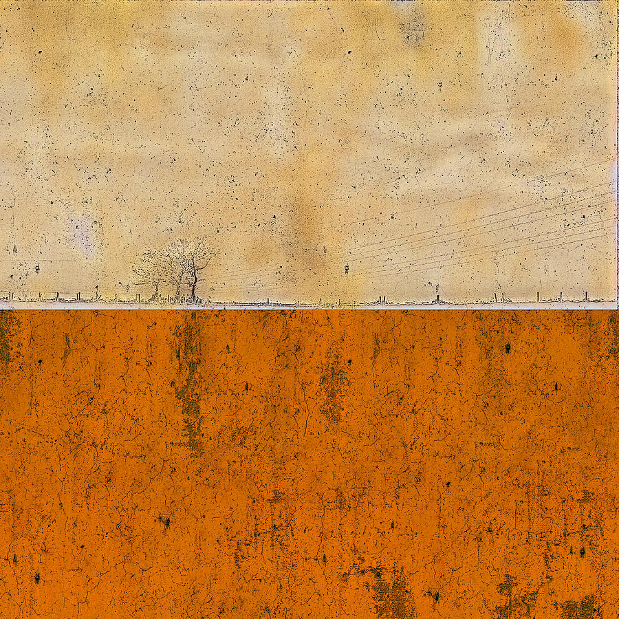 Concrete Landscape Two Painting