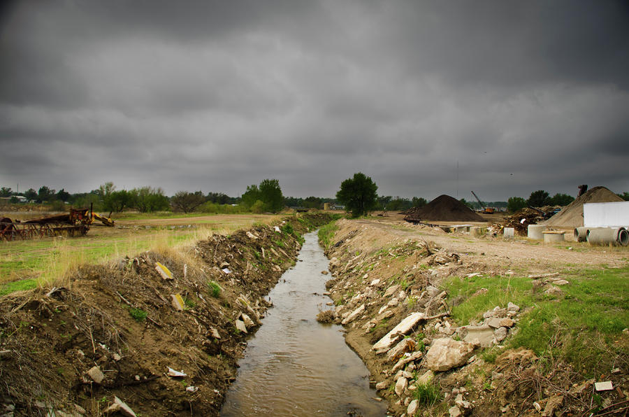 Concrete River 2 Photograph