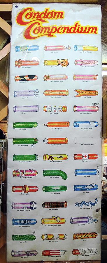 Condom Compendium Sign Thaiiland Photograph