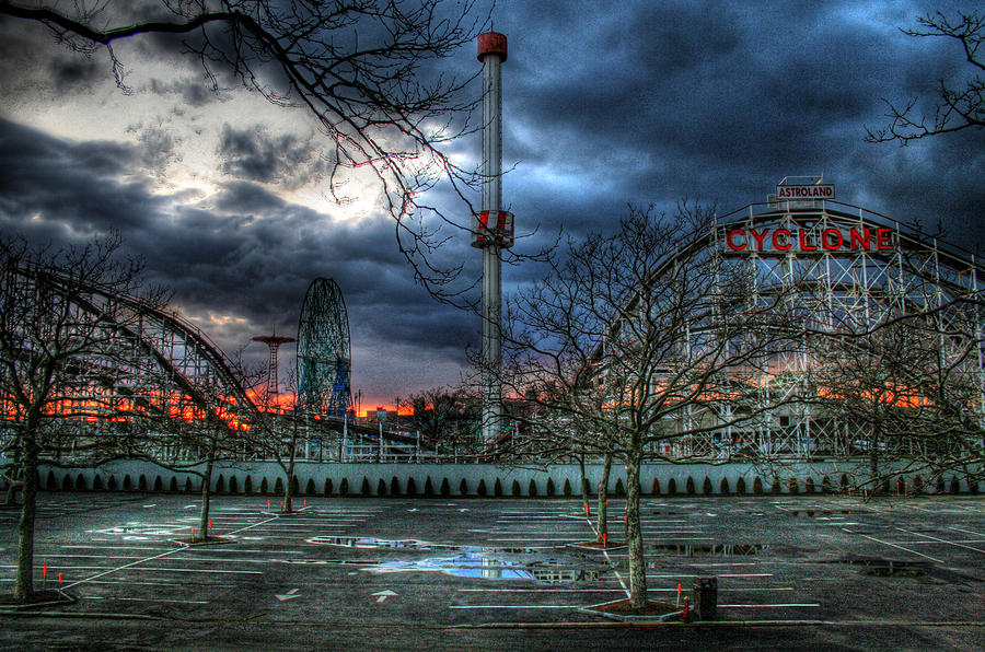 Coney Island Photograph