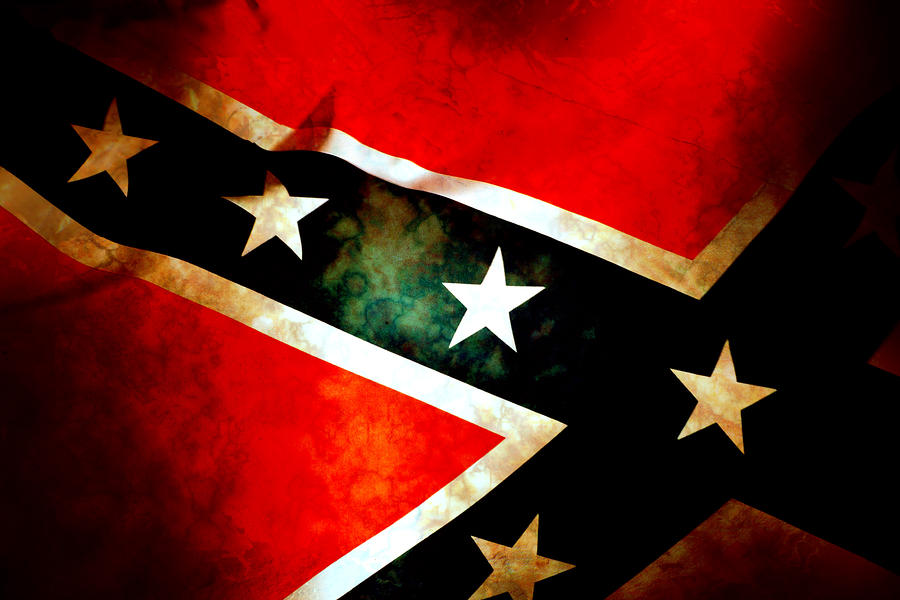 Confederate Patriot Flag Photograph  - Confederate Patriot Flag Fine Art Print
