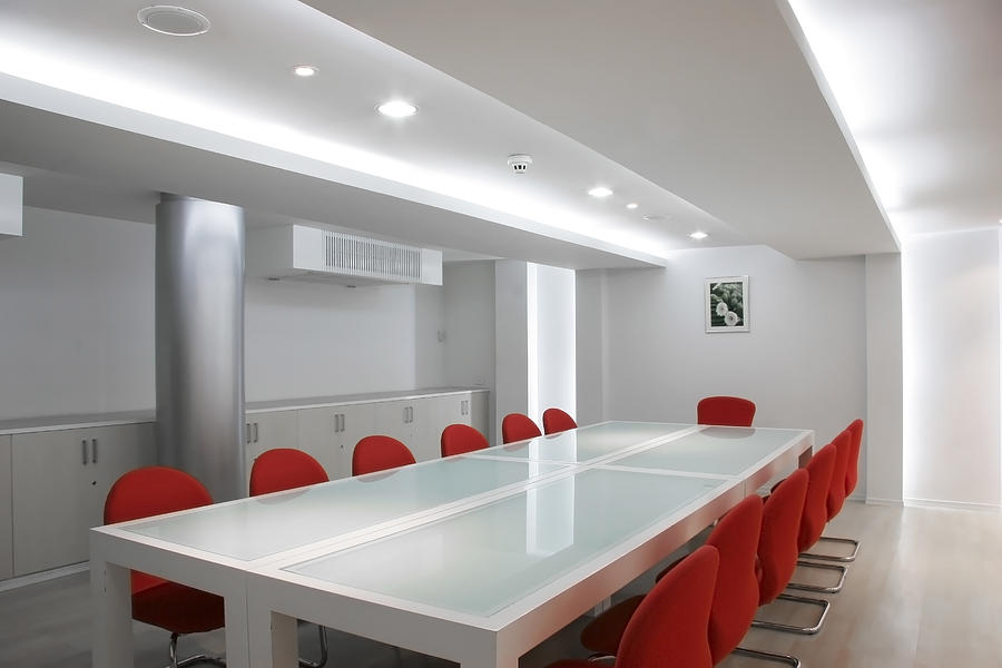 Conference Room Interior Photograph