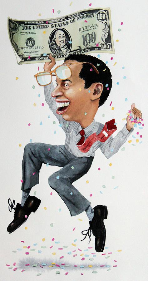 Confetti Man Painting