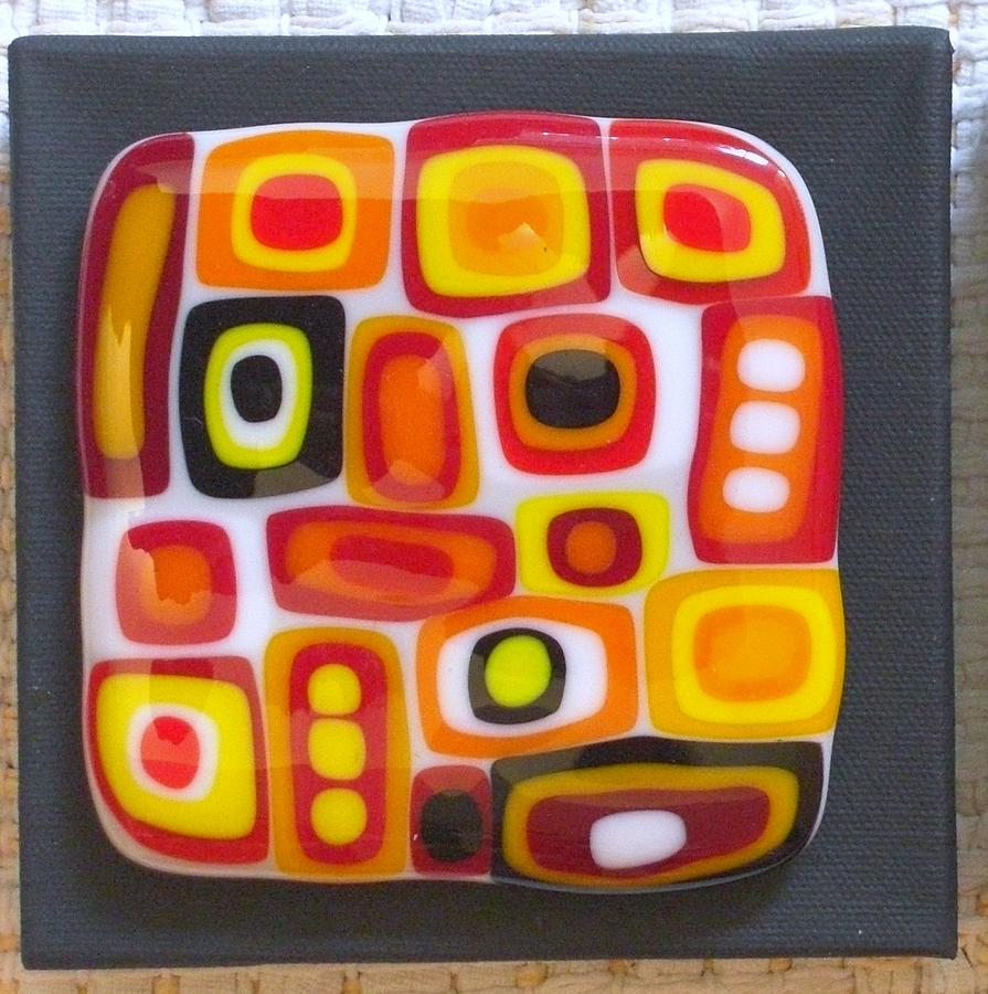 Confusion Two Glass Art